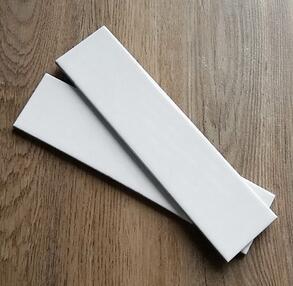 恒志纯白色瓷片 5X20釉面砖 家装建材外墙砖砖