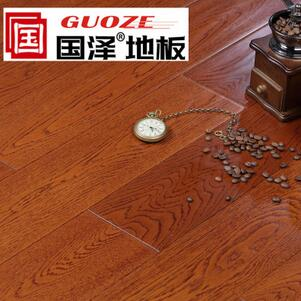 国泽地板 多层实木地板 橡木手抓纹2201