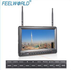 10.1寸内置电池带DVR录制功能航拍监视器