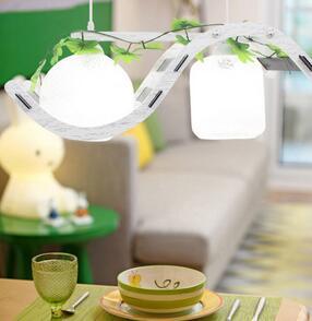 简约餐吊灯 餐厅饭厅led吊灯田园木艺两头卧室玄关过道吸顶灯