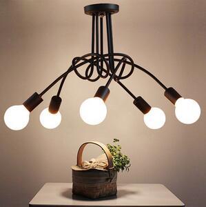 现代简约创意吸顶灯 LED客厅餐厅卧室乱涂鸦吸顶灯简约韩式吸顶灯
