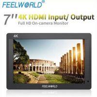 富威德 7寸全高清HDMI输入环出 超薄4K摄影监视器FH7 厂家包邮