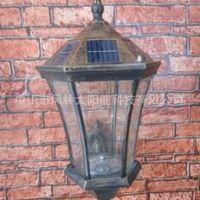太阳能压铸铝壁灯 高亮围墙用灯 门牌灯 家用壁灯 高亮LED