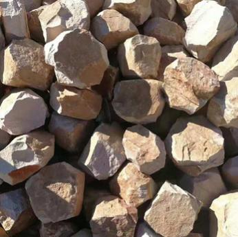 厂家直销碎石 黄色板岩碎石文化石 室外碎石厂家加工定制