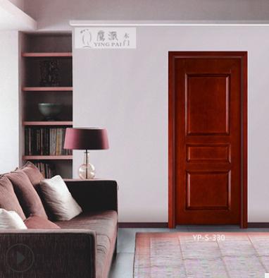 厂家直销实木复合烤漆门 定制室内实木烤漆工程门卧室隔音木门