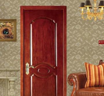 厂家订制 中式实木复合烤漆门 木门室内 钢木门纯实木平开门