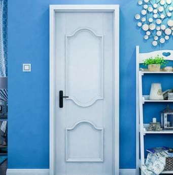 厂家订制实木复合烤漆套装门 室内门 环保隔音卧室套装门静音门