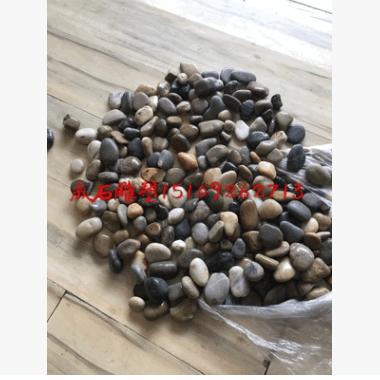 西北陕西西安彩色3-5鹅卵石小石头子景观石文化石米石水洗石