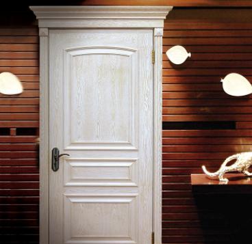 君如意 私人高端公寓别墅定制室内木门 欧式美式简约白色