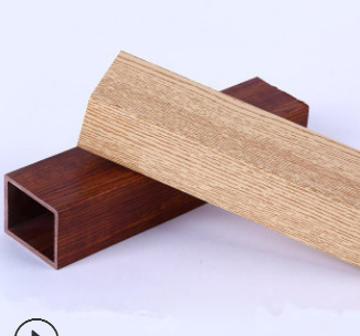 产地货源 生态木方木 木塑60*60包覆格栅