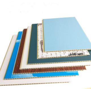 厂家直销 集成墙板 300-8木塑墙板 竹木纤维墙板