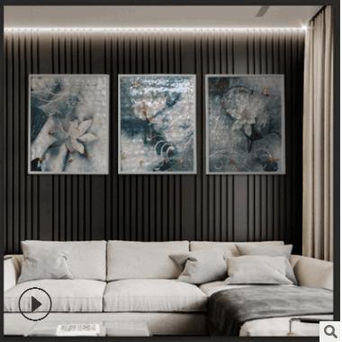 批发3d打印贝壳装饰画 酒店走廊挂画 宾馆床头壁画 沙发背景画