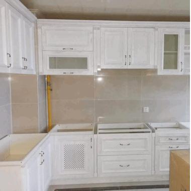 厂家定制木质橱柜 定制板式组装厨房简约现代经济型柜子