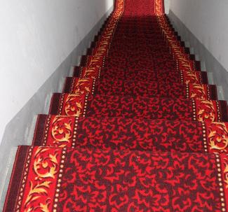 可裁剪地垫宾馆酒店地毯客厅走廊楼梯满铺地防滑脚垫尼龙走廊地毯