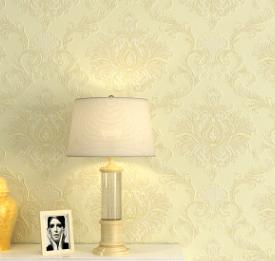 欧式无纺布墙纸卧室3d立体温馨客厅电视背景墙壁纸批发wall paper