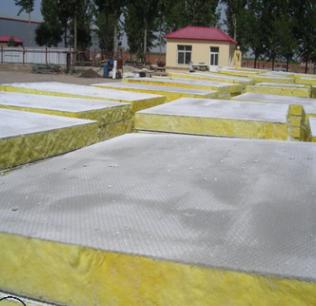 单面复合玻璃棉板每平米价格