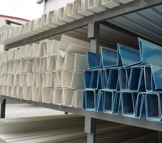 沃邦14*16长方型栽培槽 18*20pvc种植水槽 25*28塑料天沟建材定制