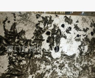 天然进口大理石——雪山银狐,石英石质,厂家直销