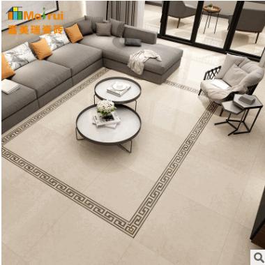 新款800x800通体大理石简约现代客厅防滑地板砖餐厅墙砖工程地砖