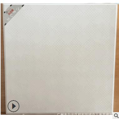 16mm高强石膏板 高晶天花 耐火石膏 隔音石膏板 微孔大方格