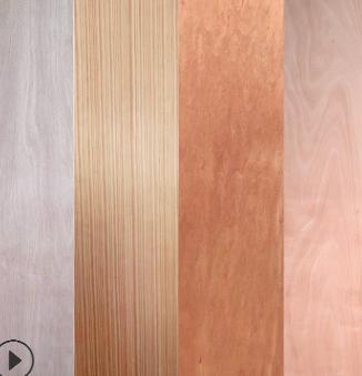 厂家直销桃花芯贴面胶合板 杨木天然木皮工程门板多规格三合板