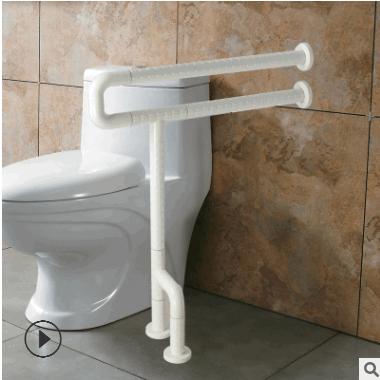 专业供应卫生间无障碍扶手 残疾人座便器浴室扶手五金防滑扶手