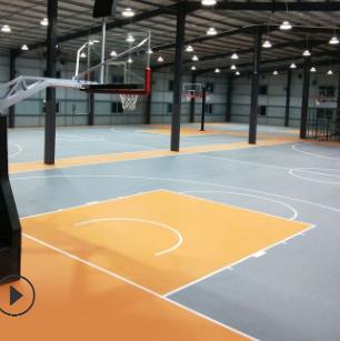 唯品胜运动地胶室内篮球场羽毛球乒乓球健身房pvc弹性塑胶地板