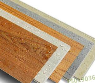 石塑地板锁扣防火石塑免胶地板 新型spc防水阻燃锁扣地板厂家直销