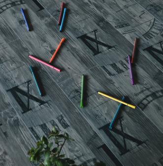 欧式拼花做旧8mm强化复合木地板创意时尚耐磨耐用工程个性木地板