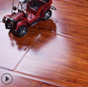 厂家直销12mm强化复合木质金刚地板E0级环保仿古浮雕家用地热防水