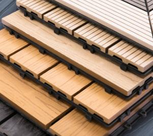 塑木木塑地板防腐木地板自拼浴室厕所地板露天庭院户外阳台木塑板