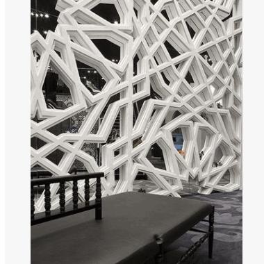 强弘GRG石膏线条欧式GRC水泥构件石膏天花造型石膏板异型线条柱子