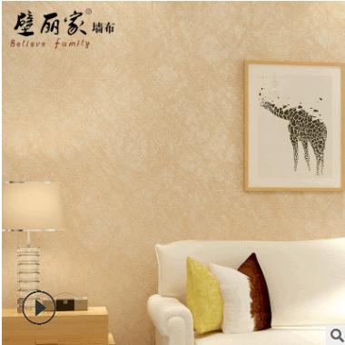 墙布简约现代纯色素色客厅卧室背景墙蚕丝无缝壁布非墙纸CS-A