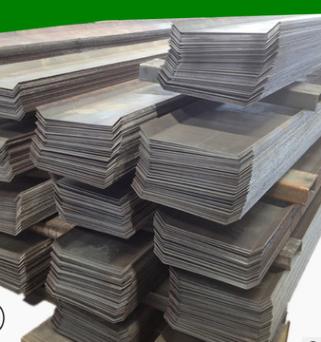 山东厂家国标q235镀锌止水钢板 建筑冷缝用300*3防水钢材异形定做
