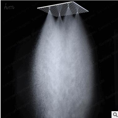 顶喷花洒喷头 单头 不锈钢花洒顶喷单头淋浴大喷头20寸 按摩 喷雾