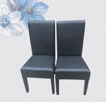 时尚铁艺椅子酒店软包 创意金属工业风餐椅 中式复古餐厅靠背椅子