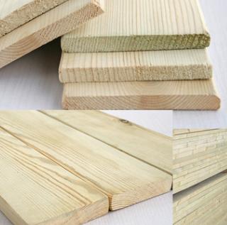 厂家供应户外防腐木材 樟子松防腐实木板材 建筑生态木工板批发