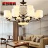 新款新中式吊灯锌合金玉石中国风家居灯饰室内灯具客厅灯一件代发