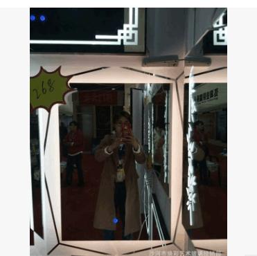 跨境酒店智能浴室镜 加工LED灯镜加除雾多功能卫浴镜