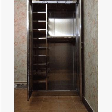 嵌入式、外置衣柜厂家定制不锈钢储物柜、衣柜、