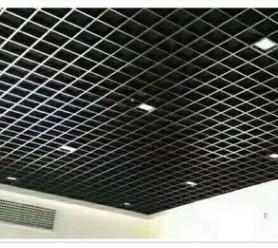 货源供应多规格可定制格栅天花 家用吊顶装饰铝合金天花支持定制