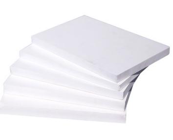 厂家直供 白色环保 8MM结皮板 PVC发泡板 安迪板 雪弗板 PVC板材