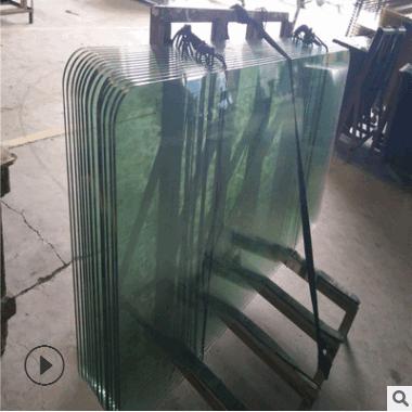 东莞钢化玻璃加工厂加工圆形钢化玻璃 玻璃桌面等深加工玻璃