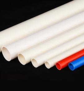 pvc管材厂家 国标 pvc线管 20mm 4分冷弯 pvc穿线管 家装电线管
