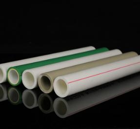 白色绿色灰色PPR热熔冷热水管 家装自来水管件管材PPR给水管