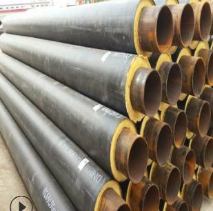 河北厂家直销 聚氨酯保温 钢管钢套钢 保温钢管量 大优惠质优价廉