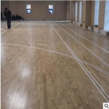 运动木地板防水防滑体育场馆专用木地板B1级枫桦木实木地板