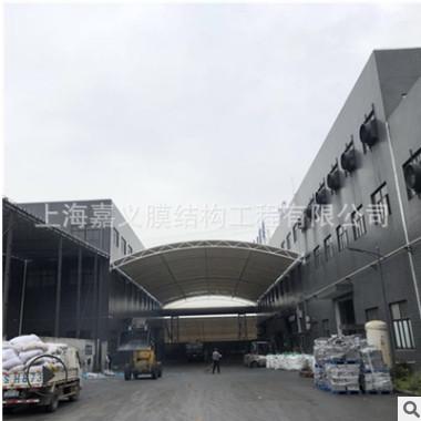 膜结构厂家设计制作走廊过道膜结构雨棚商业街过道张拉膜雨棚安装