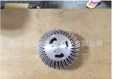 工矿灯散热器 led太阳花散热器 led铝散热片 佛山厂家生产