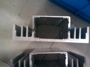 厂家供应挤出 工业铝型材 各种规格铝制品 来图来样加工定做